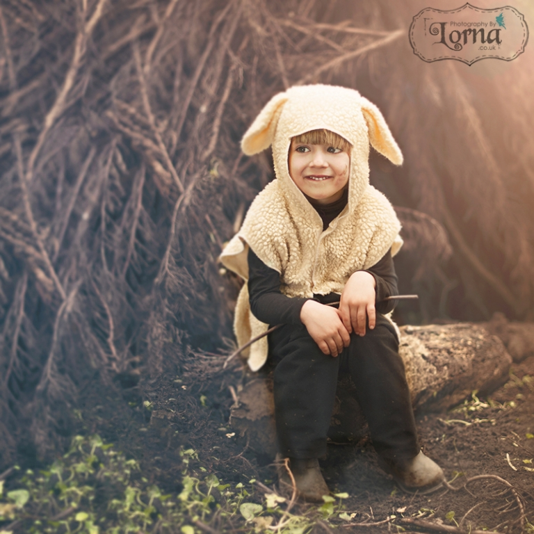cardiff-photographer-boy-as-a spring-lamb-from-peter-pan
