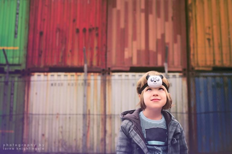 urban photograph boy age 5